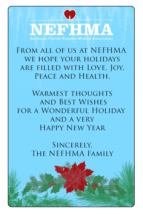 Holiday wishes from the NEFHMA family to yours.